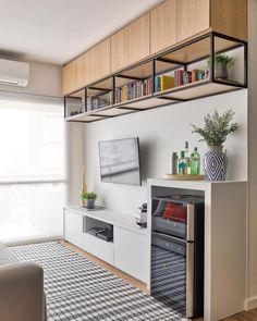 Nichos para sala: 60 ideias para organizar o espaço e onde comprar Iron Furniture, Classic Furniture, Home Furniture, Furniture Design, Furniture Dolly, Furniture Online, Wooden Furniture, Furniture Buyers, Furniture Market