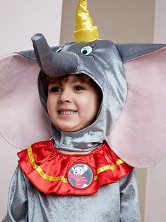 Your Disney darling can bring their favourite character to life with this fancy dress costume – Jumbo Junior, better known as circus star Dumbo! Asda, Fancy Dress, Baby Car Seats, Costumes, Children, Disney, Whimsical Dress, Young Children, Costume
