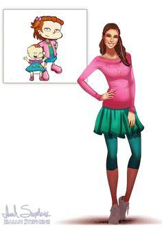 Isaiah Keith Stephens es un artista estadounidense que ha realizado diversas ilustraciones de personajes animados