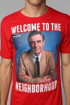 Mr. Rogers Neighborhood Tee #urbanoutfitters