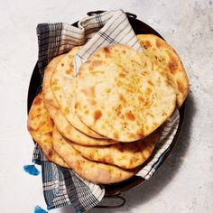 Bacon-Chile Naan | Food