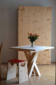 Design Tisch, Pine Furniture, Designer, Dining Table, Modern, David, Interiordesign, Pallets, Home Decor