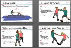 Fighting together in school! There are 24 station cards here Primary Education, Primary School, Special Education, School Sports, Kids Sports, Yoga For Kids, Exercise For Kids, Yoga Lessons, Kindergarten Lesson Plans