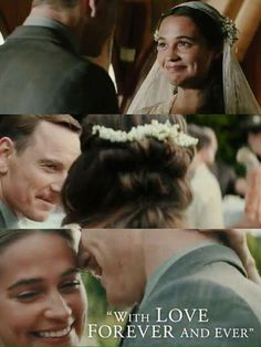 "Michael Fassbender & Alicia Vikander in ""The Light Between Oceans"" Ocean's Movies, I Movie, Film Music Books, Music Tv, Alicia Vikander Style, Michael Fassbender And Alicia Vikander, The Light Between Oceans, Swedish Actresses, Outlander Quotes"