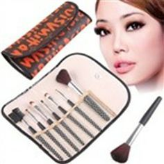 Professional Cosmetic Make-up Brushes Kit Power & Eye Shadow Brushes Facial Care Item for Women