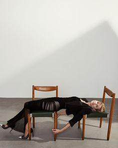 Chair Pose, Diy Chair, Chair Bed, Chair Cushions, Chair Photography, Editorial Photography, Photography Ideas, Fashion Shoot, Editorial Fashion