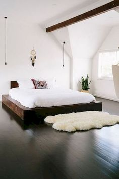 Awesome 40 Cozy Minimalist Bedroom Designs https://decorecor.com/40-cozy-minimalist-bedroom-designs #bedroomdesign