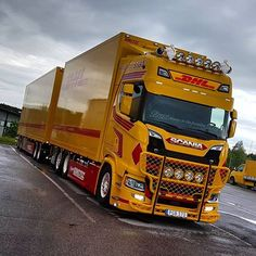 Image result for brand new scania DHL