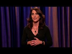 """""""Erin Foley feels your pain. In this stand-up performance on Thursday night's Conan on TBS, Foley also fills you in on how she's doing""""  funny"""