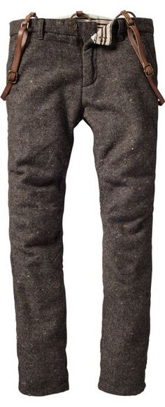 I know, I know; these are men's trousers. but I would rock the fuckin' shit out of them anyway.