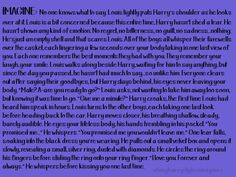 k so i just died and cried and i only read bits of this . . . im too scared to read the whole thing through