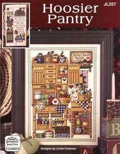 Schema punto croce Hoosier Pantry 01