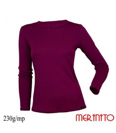 Merinito - Merino wool clothing for outdoor , hiking , running , fitness Sports Shirts, French Terry, New Product, Merino Wool, Fitness, Sweaters, Clothes, Shopping, Women