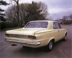 We had a Dodge Dart for awhile in the 70s...