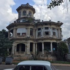 Mansion in Vedado neighborhood of Havana, Cuba.
