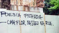 Resultado de imagem para poesia na rua
