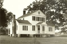 Home associated with Governor John Branch who served as Sec. of Navy for Andrew Jackson and as Territorial Governor of early Florida.  Preservation North Carolina - Historic Properties for Sale - Branch Grove