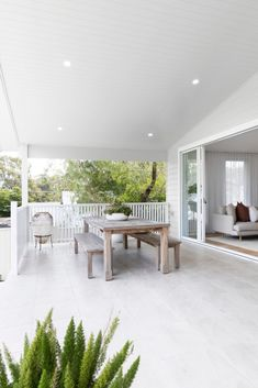 Indoor outdoor living at the Kedron Street house - Style Curator