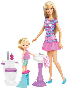 Amazon.com: Barbie I Can Be Babysitter Playset: Toys & Games