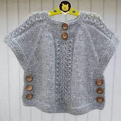 We have compiled 100 crochet baby vest pattern samples. See all of 40 crochet baby vest patterns. Browse lots of Free Crochet Patterns. Crochet Poncho With Sleeves, Crochet Poncho Patterns, Knitted Poncho, Baby Knitting Patterns, Knitting For Kids, Hand Knitting, Baby Cardigan, Girls Sweaters, Baby Sweaters