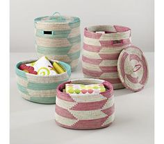 Kids Storage: Snake Charmer Storage Baskets