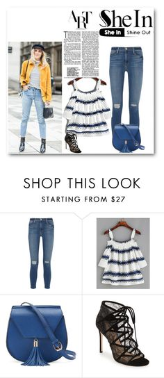 """Untitled #154"" by sweetfashionlover83 ❤ liked on Polyvore featuring Frame Denim, Yoki and Pour La Victoire"