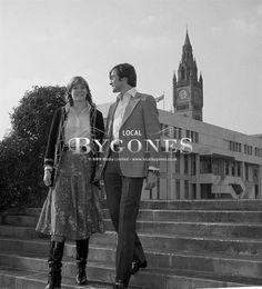 Miss Natalia Philips and Gerald Grosvenor, 6th Duke of Westminster during their engagement, Spring, 1978