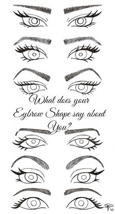 your Eyebrows Shape say about You What Does Your Eyebrows Shape Say About You? Do you believe in the art of eyebrow reading?What Does Your Eyebrows Shape Say About You? Do you believe in the art of eyebrow reading? Beauty Secrets, Beauty Hacks, Beauty Make Up, Hair Beauty, Tips Belleza, Eye Make Up, Skin Makeup, Eyebrow Makeup, Health And Beauty