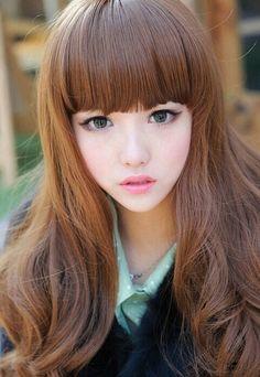 Ulzzang hair and makeup