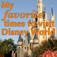 Pros & cons to traveling to Disney World at all times of the year - Favorite times to go overall as well as the best times to visit if you're working around a school schedule