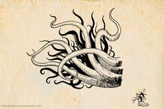 Tentacles by Kain Morgenmeer