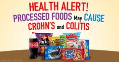 Processed foods also contain another less talked-about food additive called emulsifiers, which is linked to serious inflammatory diseases in your gut.