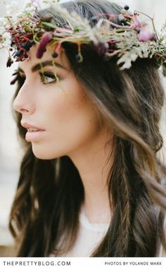 The Enchanted Forest - Wedding Inspiration | Pretty Shoots, Styled Shoots | The Pretty Blog