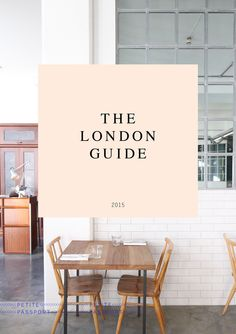 THE LONDON GUIDE | Petite Passport