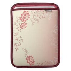 Vintage Floral iPad Sleeve