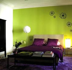 Good Colors If Your Bedroom Is In The Prosperity Gua, However This Room Has  Very. Schlafzimmer Lila ...