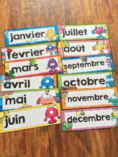 Discover recipes, home ideas, style inspiration and other ideas to try. French Education, Kids Education, Alphabet Activities, Classroom Activities, Attendance Chart, Learn French Online, Weather Vocabulary, French Conversation, Best Seo Tools