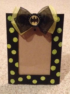 batman picture frame
