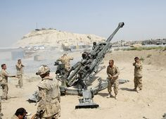 Canadian Artillery.  D Bty. 2nd Regt. 2 RCHA  Afghanistan