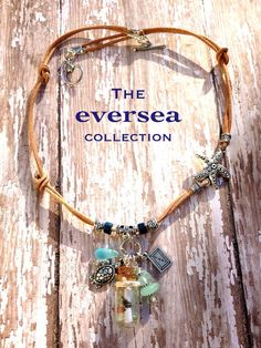 EVERSEA Forever Jack Message in Bottle Knotted Love Sea Turtle Necklace on Etsy, $65.00