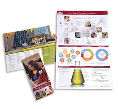 College Brochure Design  Google Search  Higher Ed
