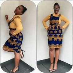 Online Hub For Fashion Beauty And Health: Checkout Her Swag In This Stylish Ankara Design Fo. Short African Dresses, Latest African Fashion Dresses, African Print Dresses, African Print Fashion, Fashion Prints, African Prints, African Attire, African Wear, African Women