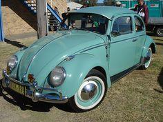 Aqua VW Beetle
