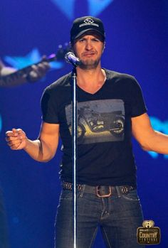 Luke Bryan Performs at the iHeartRadio Country Festival