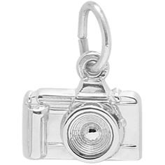 39d313faa Camera Charm in Sterling Silver by Rembrandt ($33) ❤ liked on Polyvore  featuring jewelry