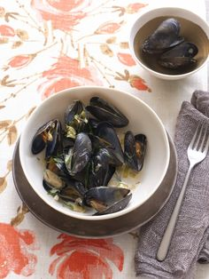 The first Thanksgiving recipes #healthy #seafood #mussels