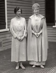 Princess Mary with Queen Mary