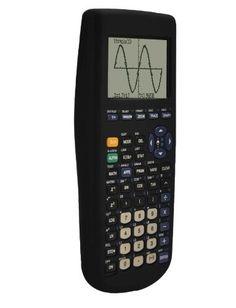 Funda de silicona para Texas Instruments TI-83 Plus con calculadora gráfica, Negro