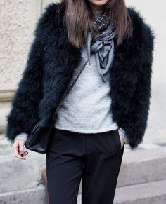 The Fur + Bag Dilemma | Keep it Chic - Preston Davis