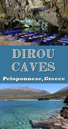 The Caves of Diros is a great day out with the kids. Towards the South of the Mani Peninsula the Peloponnese region of Greece is truly stunning with many historic and beautiful places to visit. Pyrgos Dirou the Dirou Caves. What to expect when you visit. Santorini, Best Places To Travel, Places To Go, Greece With Kids, Greece Travel, Greece Trip, Greece Vacation, Travel Alone, Beautiful Places To Visit